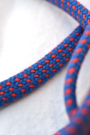Hoodieband, blau-rot