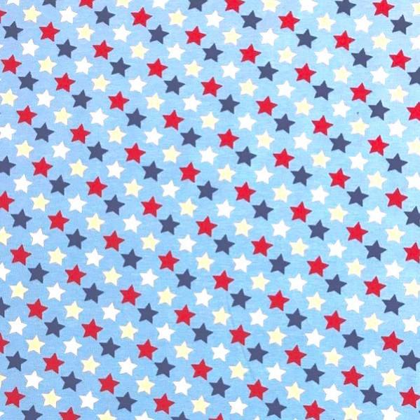 Blue, Sterne auf hellblau, Jersey