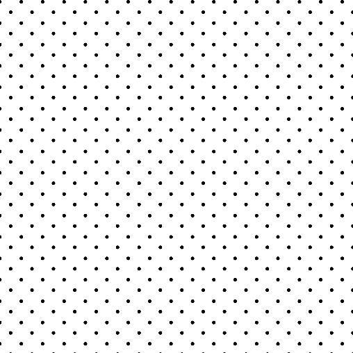 Lili Punkte klein, dunkelblau auf weiß, Webstoff, waschbar bei 60°