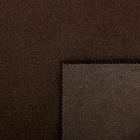 Softshell dunkelbraun mit braun