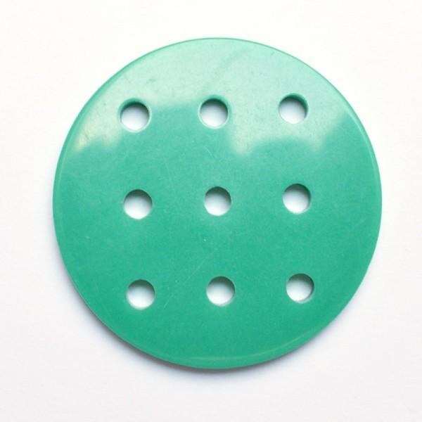 Buchstabenknopf, grün