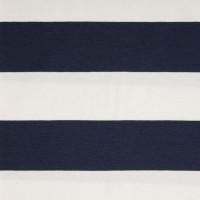 Alberto Bio-Jersey Blockstreifen, dunkelblau/weiß