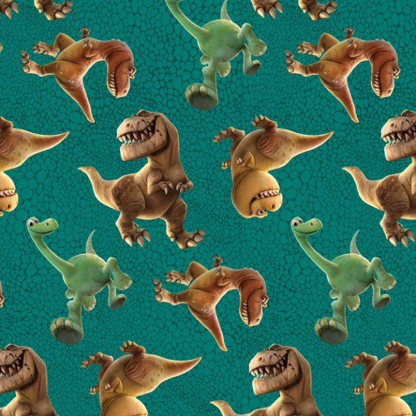 Disney, Dinosaur Toss on Skin, Webstoff