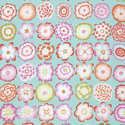 Kaffe Fassett Button Aqua