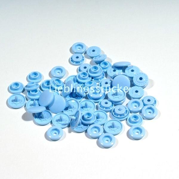 KAM Snaps, 10 Stück Packung, Hellblau - 20