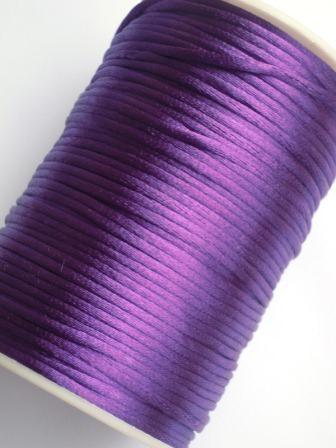 Satinschnur, violett