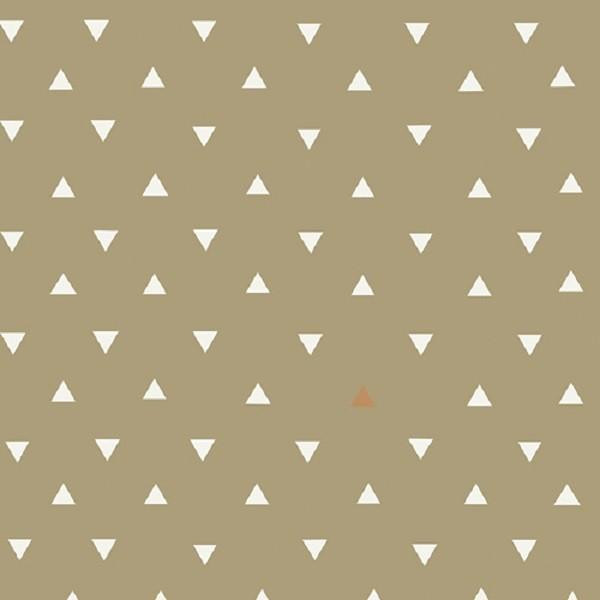 Art Gallery Observer, Triangle Tokens beige, Webstoff