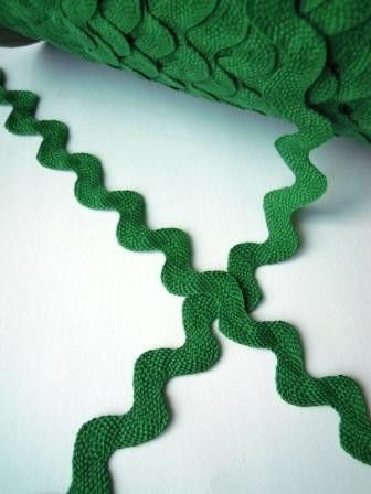 Jumbo Zackenlitze, grün *SALE*