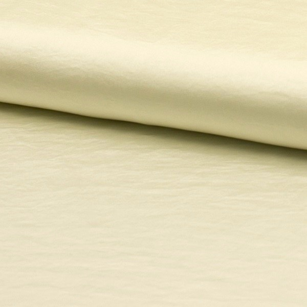 Silky Satin Washed offwhite