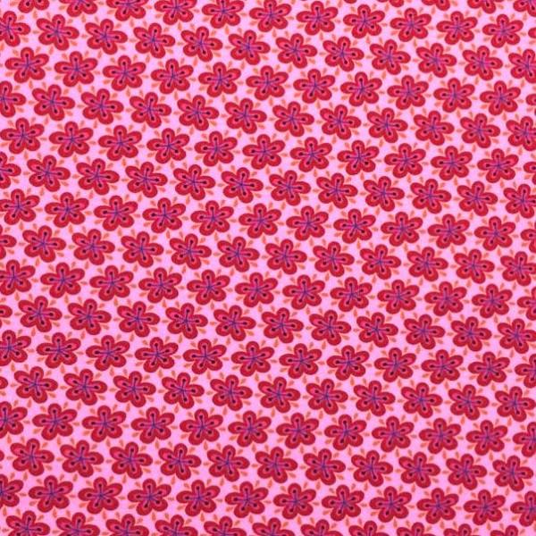Eden, Sea of Blossoms rosa, Popeline