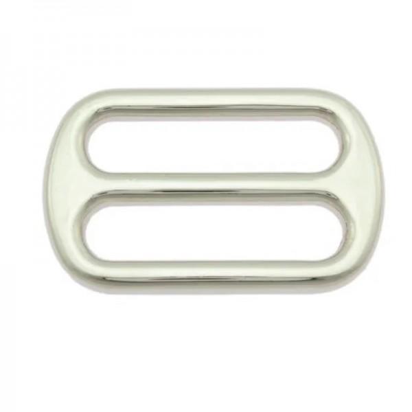 Leiterschnalle, 40 mm, nickel