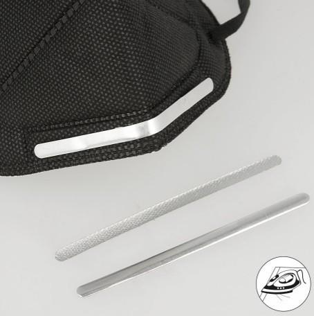 Nasenbügel, zum Aufbügeln in MNS-Masken