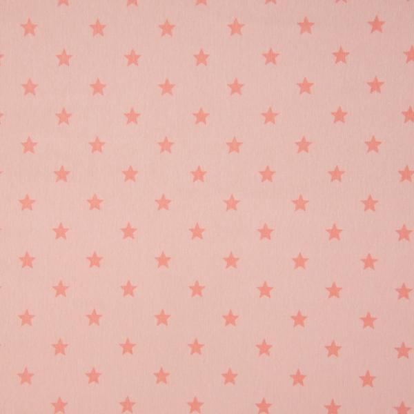 Bündchen mit Sternen apricot