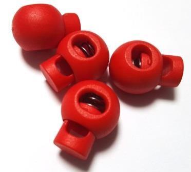 XL Kordelstopper, rot