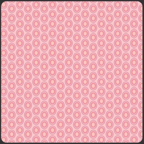 Art Gallery Oval Elements Parfait Pink, Webstoff