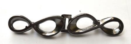 Iinfinity, Metallverschluss, grau