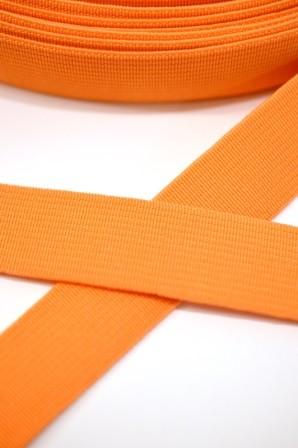 Einziehgummi, orange, 20 mm