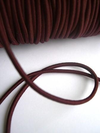 Gummischnur, 3 mm, weinrot