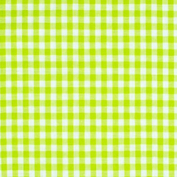Vichykaro, mittel, hellgrün-weiß kariert