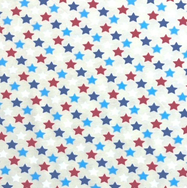 Blue, Sterne auf beige, Jersey