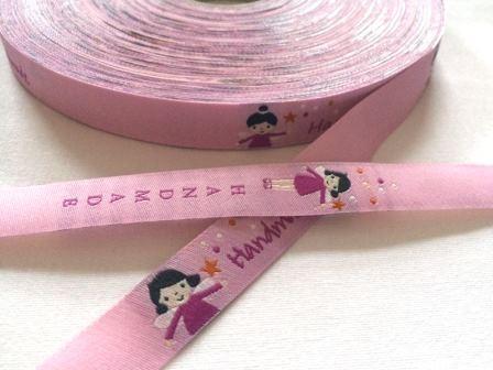 handmade Fiona Fee, rosa, Webband