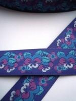 ZNOK Violets, purple, Webband