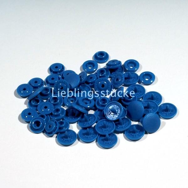 KAM Snaps, 10 Stück Packung, helles Mittelblau - 27
