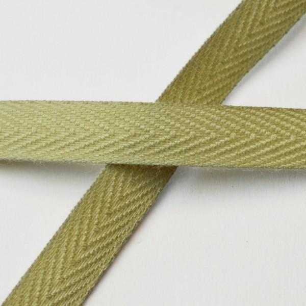 Köperband, 10 mm, leinen