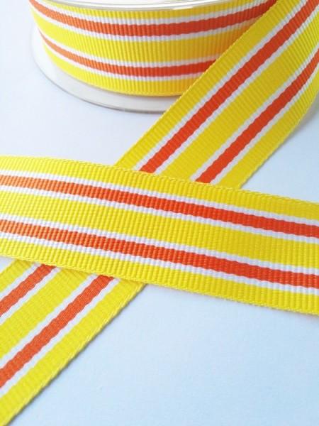 Grimsey, gelb, Ripsband