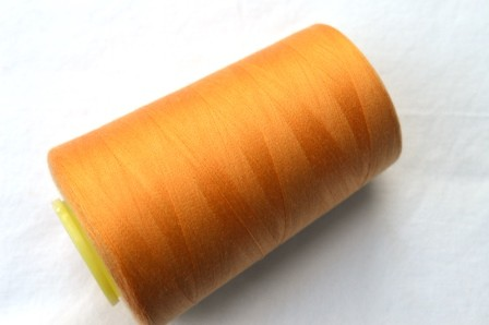 Overlock Garn, helles orange