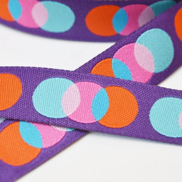 Amore Gelato violett, Webband