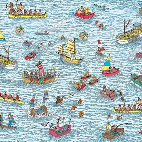Digitaljersey, Wo ist Walter, Im Meer blau, Jersey