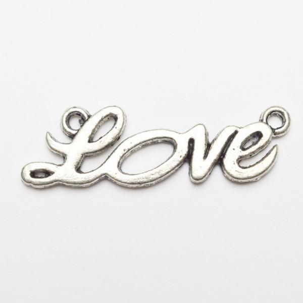 Love, groß, Charm, nickel