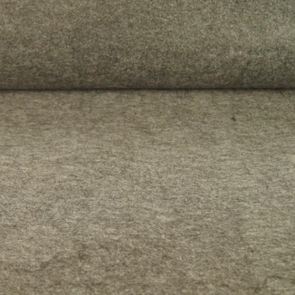 Filz 3 mm dick mittelgrau-meliert