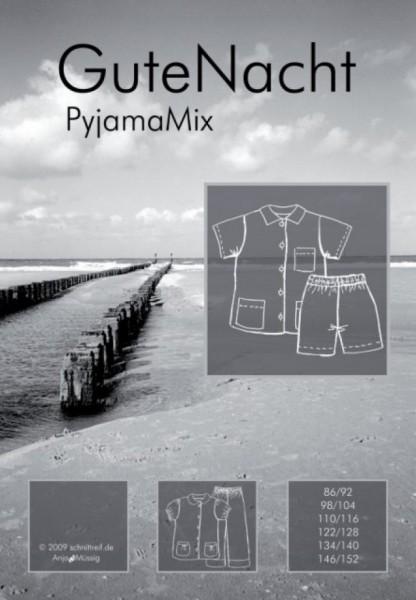 GuteNacht, Pyjamamix, FM-Schnittmuster