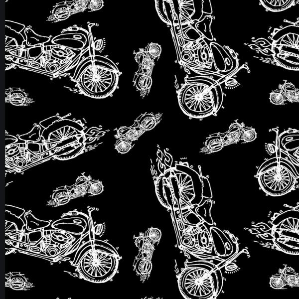 Motorräder auf schwarz, Sweat