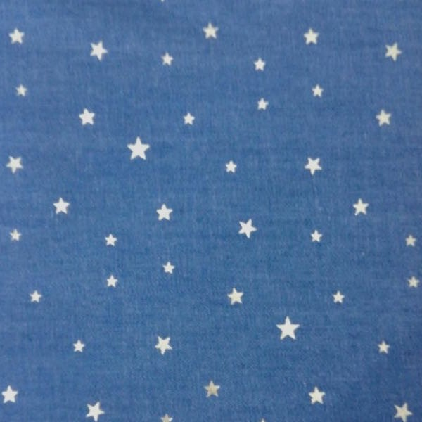 Jeans Glitzer-Sterne, mittleres jeansblau