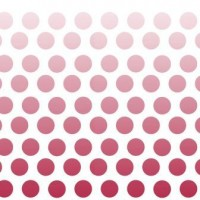 Riley Blake Cotton Ombre Dots Red