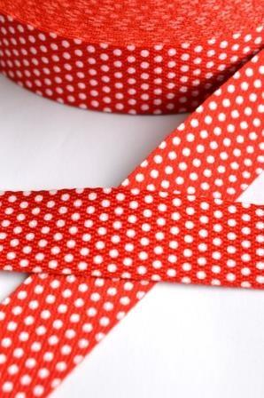 Gurtband, Punkte rot