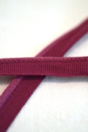 elastische Paspel, violett