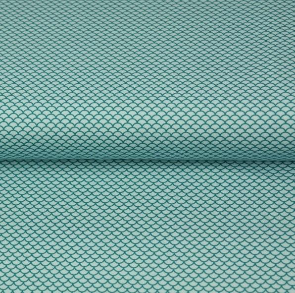 Stenzo Mini-Schuppe mint, Bio-Jersey