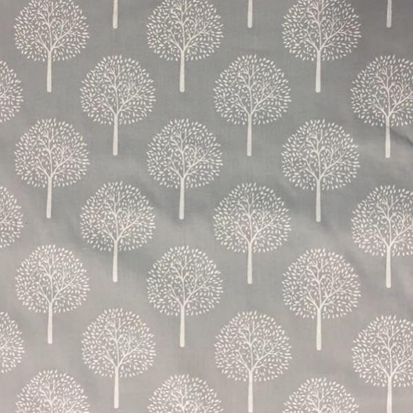 Steffi Bäume auf grau, Batist