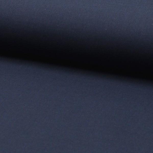 Baumwollstoff fein/Voile, dunkelblau