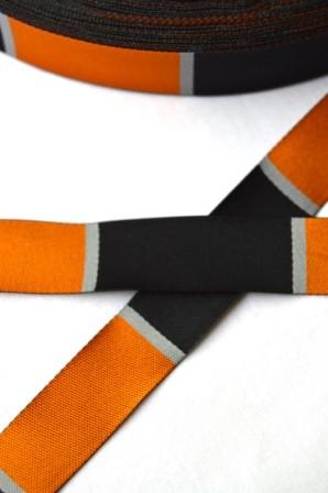Blocs, orange, Webband