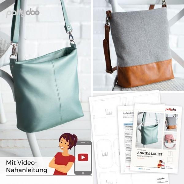 Annie&Loise Handtasche, pattydoo-Schnittmuster