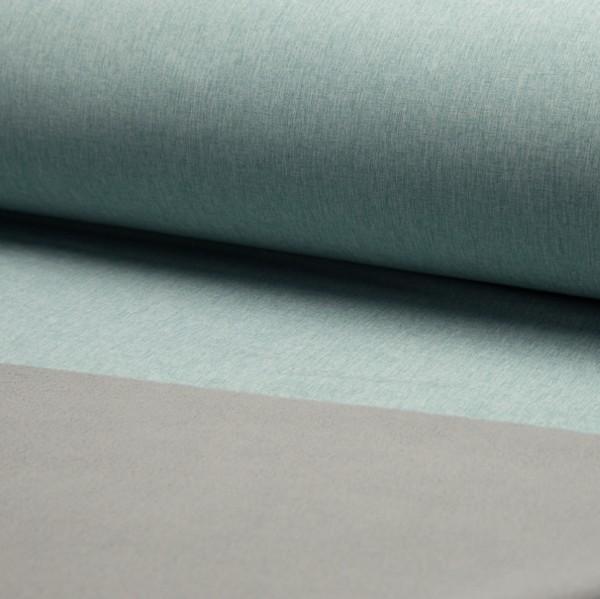 Softshell mint-meliert mit grau