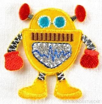 Applikation Roboter, gelb