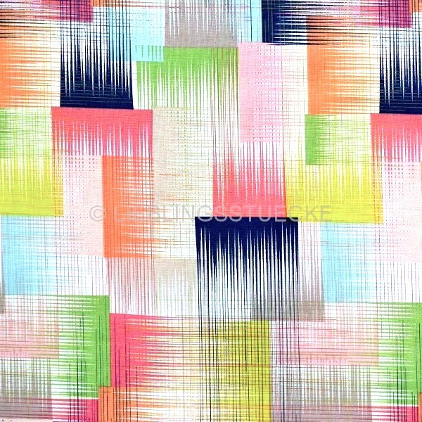blendfabrics, Geofabulous, Symetry in Pink, Webstoff *Letztes Stück ca. 100 cm*