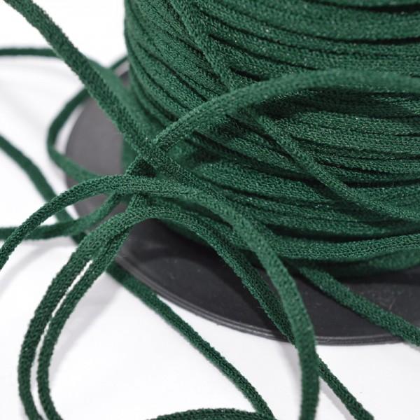 Gummischnur Lycra Elastic, 3 mm, dunkelgrün