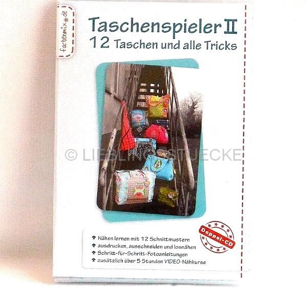 Taschenspieler II - CD mit 12 Schnittmustern *SALE*